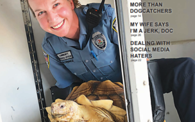 Sneak Peek at the cover for the upcoming Animal Care & Control Today.